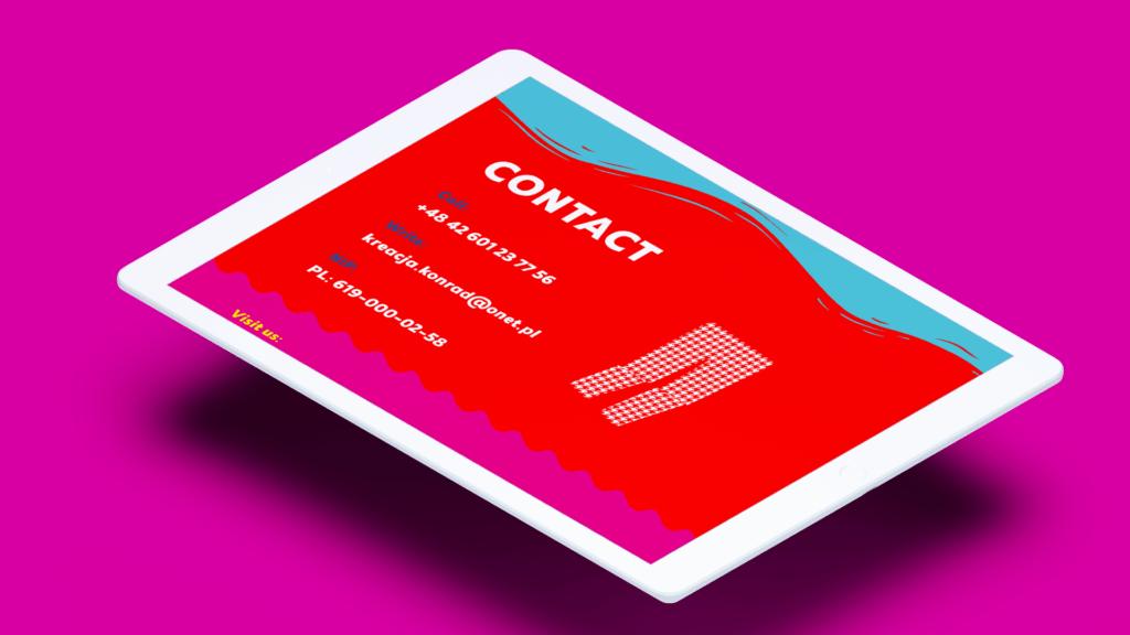agencja kreatywna vbracja branding strony internetowe logo aplikacje materiały marketingowe projektowanie graficzne wrocław kreacja strona internetowa dla firmy konfekcyjnej